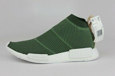 c7d0c7a03 Adidas NMD CS1 PK Primeknit Cargo Green White City Sock B37638 Men Size 6