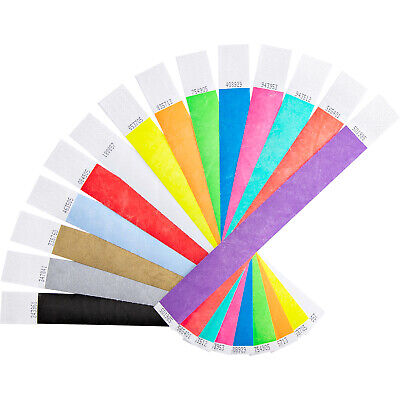 Cheap Tyvek Paper Event Wristbands Festival Party Security ID Venue Bands Sale