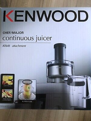 At641 Kenwood Juicer Continuous Attach For Chef Major Brand New
