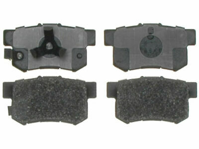Front and Rear Ceramic Brake Pads Set Rubber Shims For HONDA CR-V ACURA RDX FWD