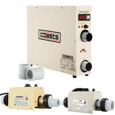 2/3/11KW Electric Home Water Heater Thermostat Swimming Pool & Hot Tub Bath SPA