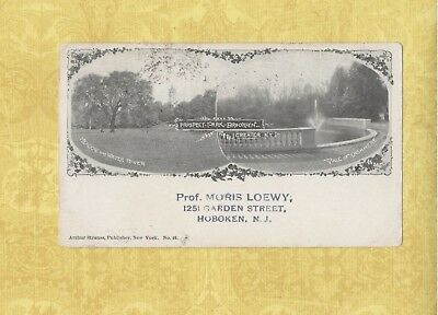 NY Brooklyn 1899 PMC PRIVATE MAILING CARD postcard PROSPECT PARK New York