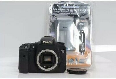 Canon EOS 7D 18.0 MP Digital SLR Camera w/ EF-S 18-55mm F/3.5-5.6 And Charger