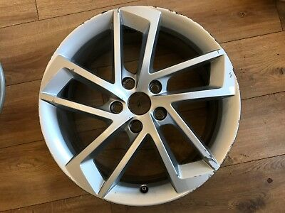 "Genuine Oem Seat Leon Fr 17"" Spare Alloy Wheel 5F0601025G"