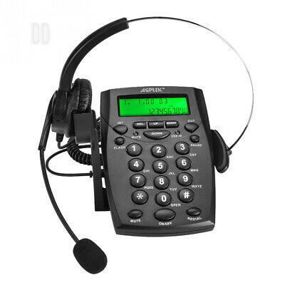 AGPtek Business / Call Center Dialpad Headset Telephone with Tone Dial Key...