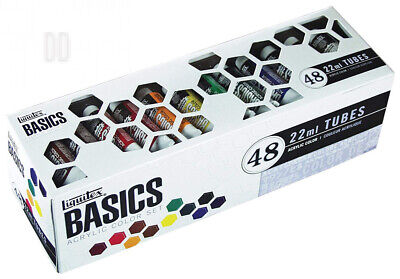 Liquitex 101048 Basics Acrylic Paint 48 Colors