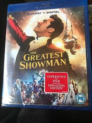 The Greatest Showman [Blu-ray + Digital) Dvd - SEALED