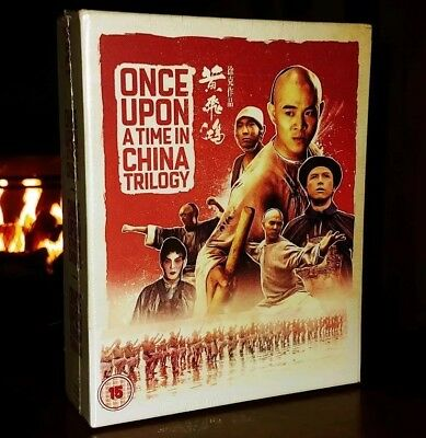 ONCE UPON A TIME IN CHINA TRILOGY (Blu-ray, Box Set) BRAND NEW & SEALED