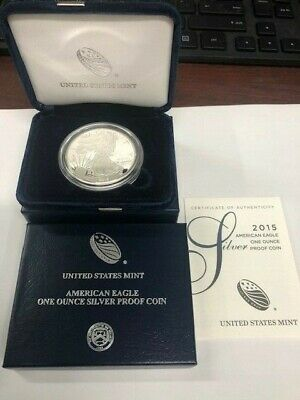 2015-W Proof Silver American Eagle 1