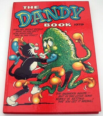 Dandy Annuals 1979 1980 Unclipped VGC