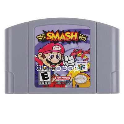 Super Smash Bros. - Nintendo 64 Video Game Cartridge for N64 Console US Version