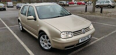 2001 MK 4 VW Golf 2.8 V6 4Motion - 4WD - Rare Colour - Unmodified Example