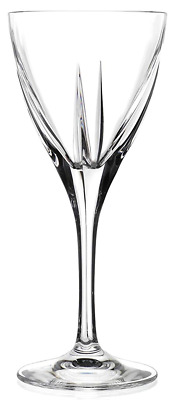 Rcr Crystal Set of 6 Fusion Red Wine Glasses Or White Wine Goblets 310ml