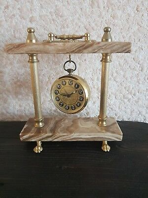 Vintage/ Antique  Europa Alarm Clock With Stand - Germany