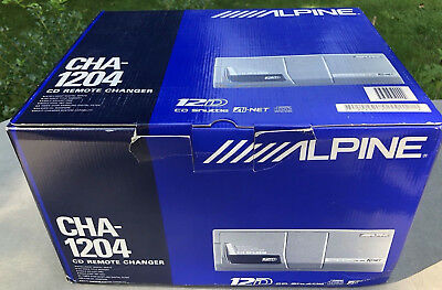 ALPINE CHA-1204 cd-changer to 12 cd read CD-RR/RW standard AI-NET full equipment