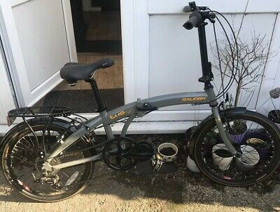 Raleigh Evo 2 Folding Bike Commuter Bike Used Twice. Grey Payment On Collection.
