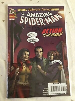 Amazing Spider-Man  #583. Signed By Todd Nauck. Ltd To 199 Copies. Df Coa