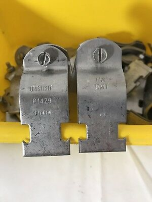 LOT OF (26) New Old Stock! Unistrut Conduit Pipe Clamps P1429