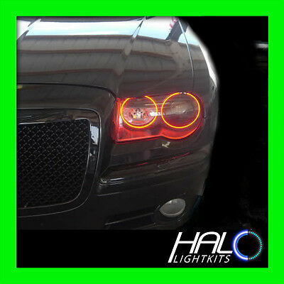 2005-2010 Chrysler 300 Red Plasma Luce Faro Halo Kit da Oracolo