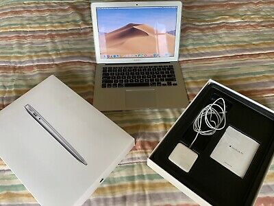 2015 APPLE MACBOOK AIR 13 1.6GHz 8GB 128GB MMGF2LL/A MacOS Mojave Excellent