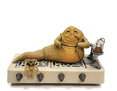 Star War Vintage Kenner Jabba The Hutt playsets good conditions