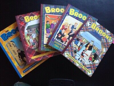 The Broons x5 Annuals (2001, 2003, 2005, 2007, 2009)