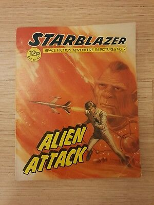 STARBLAZER - Space Fiction Adventures in Pictures Comic No. 3 - 1979