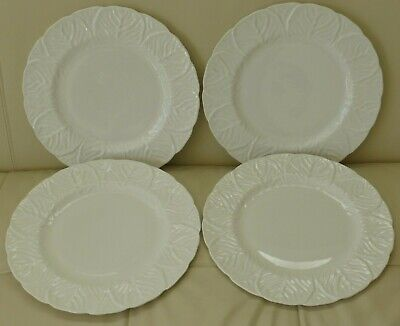 Coalport Wedgwood Bone China Countryware 4 Dinner Plates