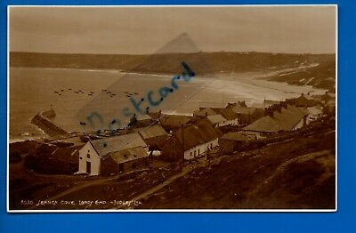 Judges Rp Postcard First & Last House Lands End Cornwall Nr St Just Penzance