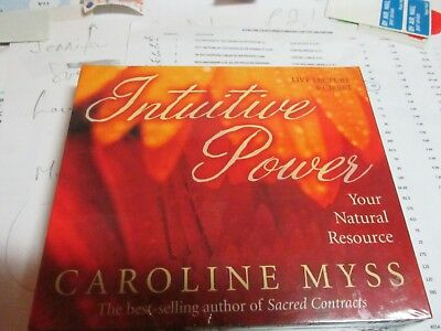 Intuitive Power: Your Natural Resource by Caroline Myss Brand New & Sealed