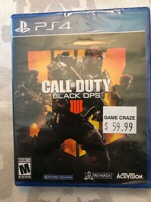Call of Duty: Black Ops 4 Sony PlayStation 4 PS4  BRAND NEW, SEALED