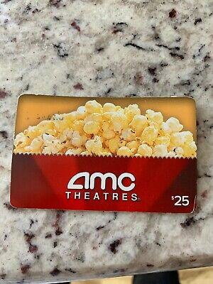 AMC Theaters Movie Gift Card - $25