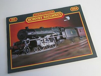 Hornby Railways  OO Scale Catalogue 1984 (30th Edition) - No Price List