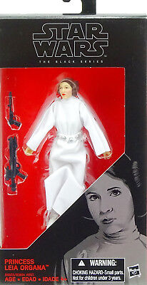 "Star Wars The Black Series Princess Leia Organa ""a New Hope"" 6"" Inch Hasbro #30"