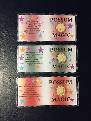 2017 $2 Possum Magic Coin Flip Set (No Coins).