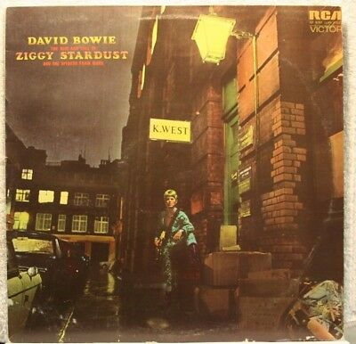 David Bowie  Ziggy Stardust And The Spiders From Mars    Original In Great Cond.