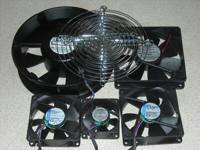 Selection of Ebm Papst 24V DC electronic equipment fans 5 off