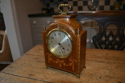small mahogony 8 day french clock