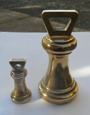 Georgian Style Brass Weights - For Display Purposes Only ?
