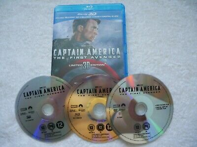 Captain America The First Avenger - 3D Blu-Ray