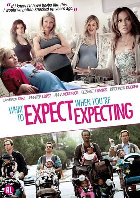 Dvd What To Expect When You're Expecting - Cameron Diaz -  Nlo - R2 - Topfilm