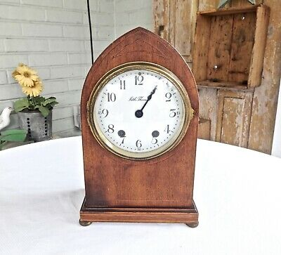 Antique Seth Thomas 48R Chiming Beehive Cathedral Mantel Clock,runs,11.5""