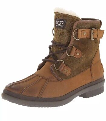 d03f1bd588e UGG AUSTRALIA WOMEN'S Cecile Winter Boots Waterproof Boot, Size 11 ...
