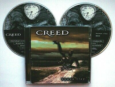 CREED - HUMAN CLAY (2-CD Set 1999) *Special Edition with Bonus Disc*