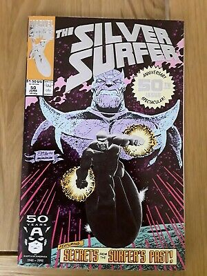 Marvel Comics Silver Surfer 50 featuring Thanos