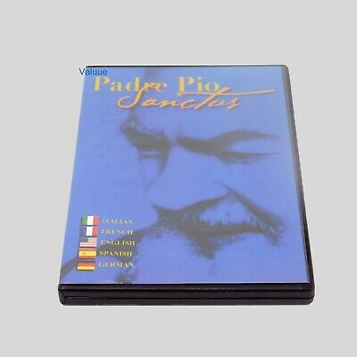 Padre Pio Sanctus DVD Brand New sealed Full Screen Free Fast Shipping