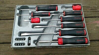 "9 PC SNAP ON SGD Screwdriver Set & SNAP ON SGDMRC4 -  1/4 "" Ratchet Driver"