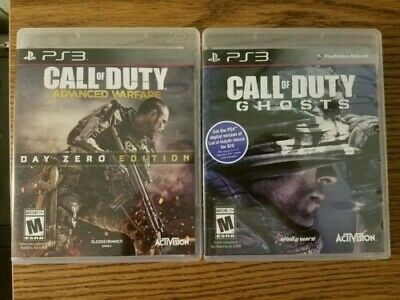 CALL OF DUTY: Modern Warfare 2, Ghosts, COD 3, - Playstation