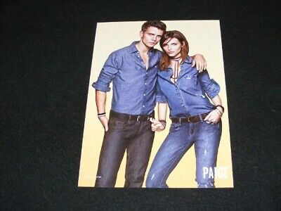 PAIGE magazine clipping ad from 2013 Paige USA