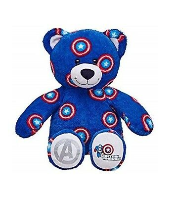 Captain America Build A Bear *New No Tags*